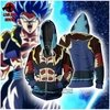 Jaqueta/Blusa Gogeta Blue Dragon Ball Super