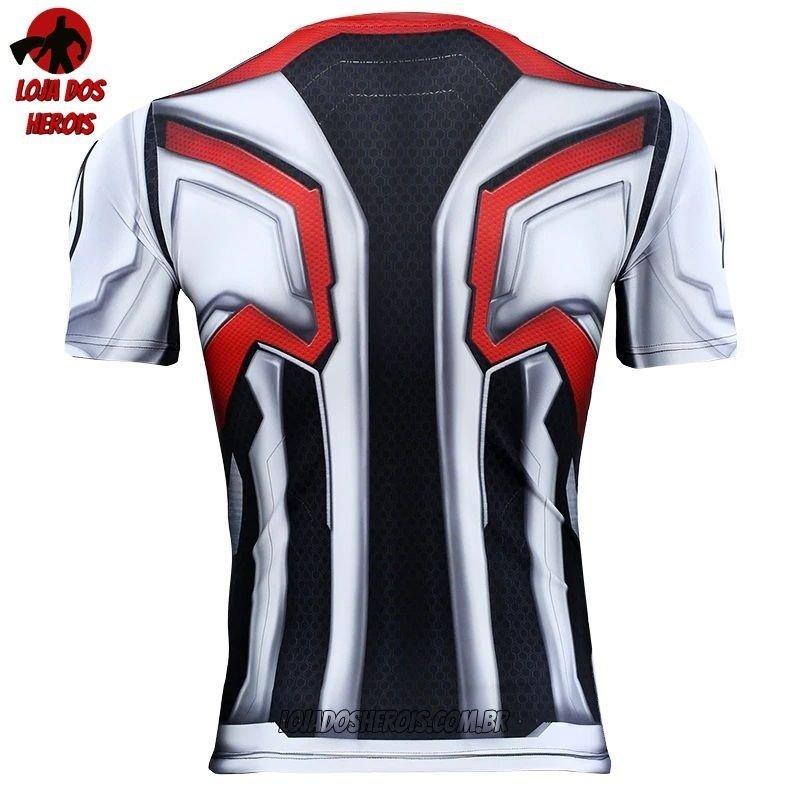181b2f179a Camisa/Camiseta Hash Guard Uniforme Vingadores Ultimato - Endgame  Compressão. 16% OFF. Novo. 1