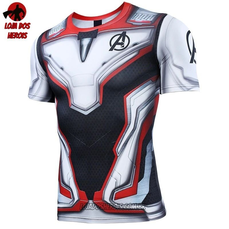 b047c864e1 Camisa/Camiseta Hash Guard Uniforme Vingadores Ultimato - Endgame Compressão