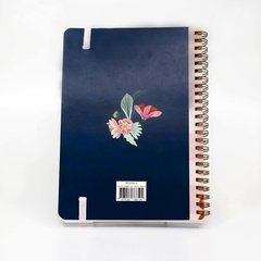 Linea Flower Power - Notebook Grande - TINTHA MAYORISTA