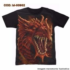 Camiseta Face Dragon
