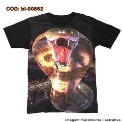 Camiseta  Cobra Face Snake King