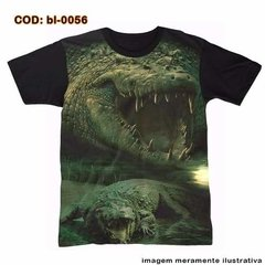 Camisetas Estampa Digital Alligator