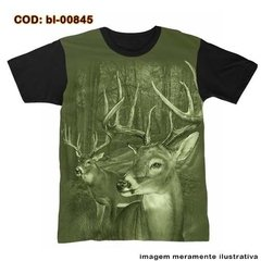 Camiseta Hunter Cervos Na Floresta