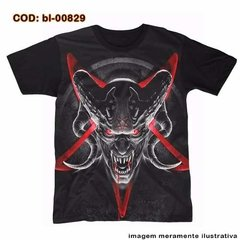 Camiseta Unissex Demon Heavy Metal