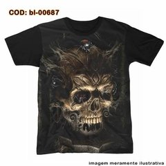 Camiseta Skull Crypt And Black Widow