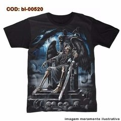 Camiseta Morte No Trono / Throne Of Death