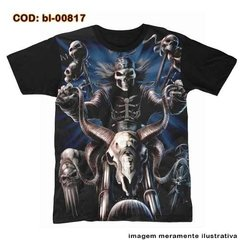 Camiseta Evil Biker - Ride Or Die