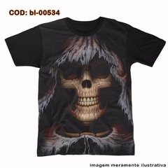 Camiseta Face  - Morte  - Ceifeiro