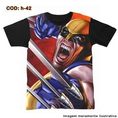 Camiseta Logan Wolverine X Men