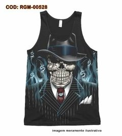Camiseta Regata Skull Gangsta Hip Hop