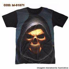 Camiseta 3d Big Face Dead