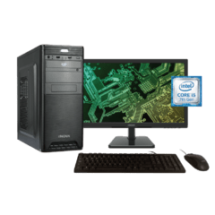 "PC eNova I5 + RAM 8gb + 1tb HDD + Periféricos + Led 23.6"" (sin SO)"