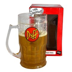 Caneca de chopp 500ml duff beer