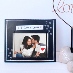 Porta retrato i love you - comprar online