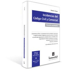 Libro: Incidencias del Código Civil y Comercial. Derecho Societario - Volumen 14