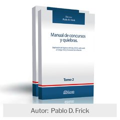 Libro: Manual de concursos y quiebras 2018 (II Tomos)