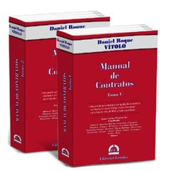 Libro: Manual de Contratos (Tomo 1 y 2)