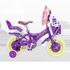 ART. 13006 BICICLETA R 12 DAMA X-TERRA ROCK STAR - RAINBOW