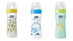 Tripack de mamaderas WellBeing Chicco Anti cólicos  250ml 2m+ - comprar online