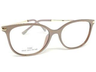 1e5317d07 Óculos Armação De Grau Vintage Retro Strass Psg-3026t