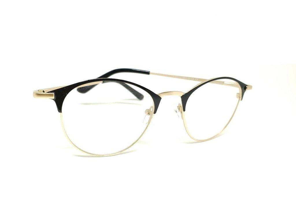 1f7480cfa Óculos Armação De Grau Redondo Round Metal Geek Psg-80433