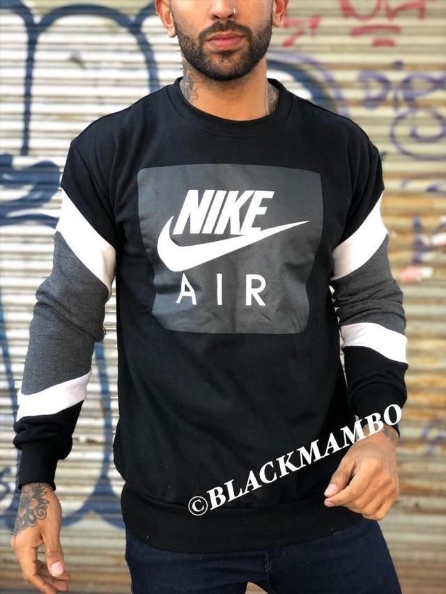 Escritor álbum de recortes Desgastado  Buzo Nike Vintage negro - Comprar en black mambo