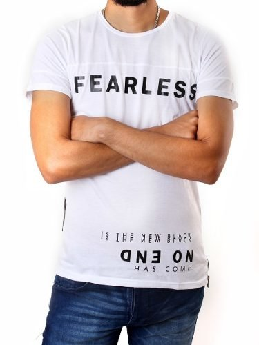Remera Fearless Hombre No End 28244 en internet