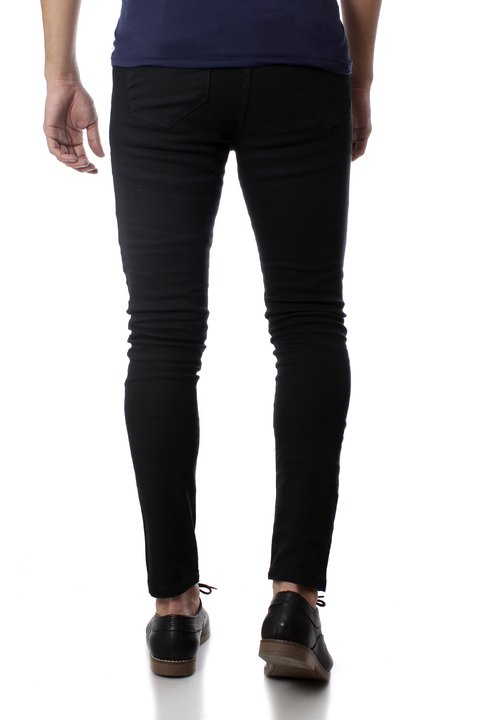 Pantalon Negro Gabardina 32312 - No End