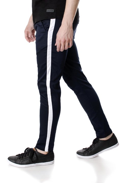 Pantalon de Saten c/tira lateral 32393 - No End