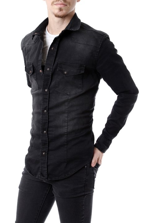Camisa Black 32199 - No End