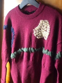 Sweater Ricamo - ESPACIO HEY.