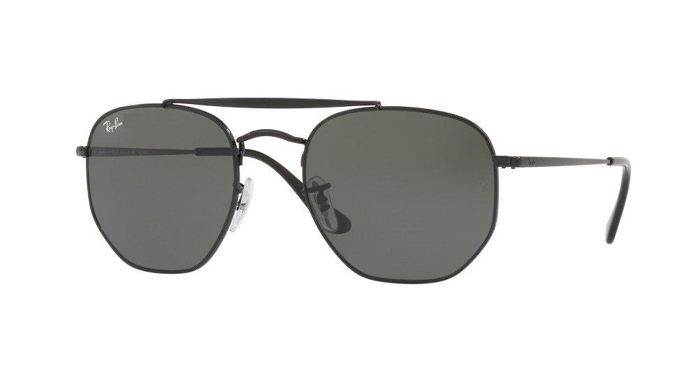 e60863ded7 Ray Ban Marshal 3648 Negro/Verde Oscuro G15 Originales Italianos. Garantía