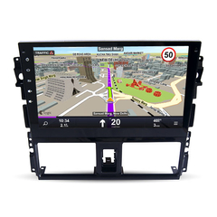 "Stereo Multimedia 10"" para Yaris 2015 con GPS - WiFi - Mirror Link para Android/Iphone"