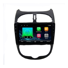 "Stereo Multimedia 9"" Peugeot 206 con GPS - WiFi - Mirror Link para Android/Iphone - comprar online"