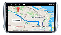 "Stereo Multimedia 10"" Peugeot 208 / 2008 con GPS - WiFi - Mirror Link para Android/Iphone - comprar online"