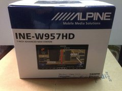 "Stereo DVD Alpine INE-W957HD 7"" con GPS - Bluetooth - USB - HDMI en internet"