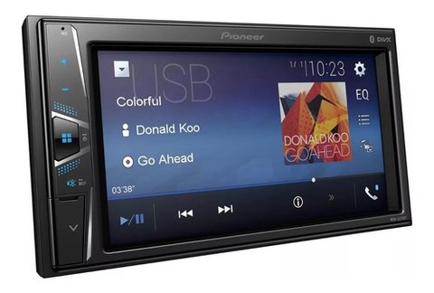 Stereo Pioneer MVH-G215BT con Bluetooth sin CD