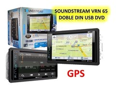 "Imagen de DVD Doble Din 6,2"" SoundStream VR-620HB con USB - Bluetooth - PhoneLink"