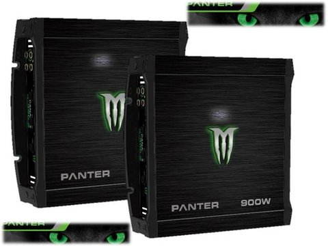 Potencia Monster 900w 2 Canales Panter X-450.2