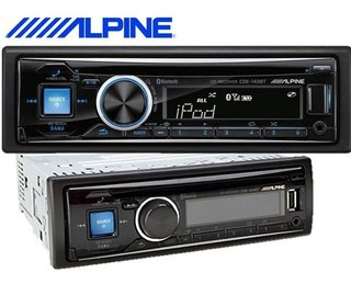 Stereo Alpine Cde-143bt Cd Bluetooth Usb Aux Audio Trends - audiotrends