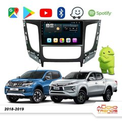 "Stereo Multimedia 9"" Mitsubishi L200 2018-2019 con GPS - WiFi - Mirror Link para Android/Iphone"