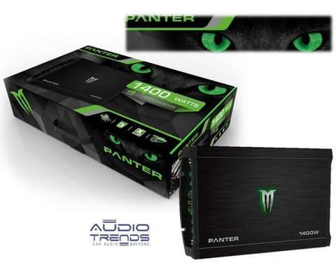 Potencia Monster 1400w Panter X-350.4 4 Canales