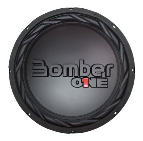 Subwoofer Bomber One Bobina Simple 10 Pulgadas 200 Rms