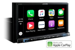 "Stereo Alpine ILX-207 7"" con Android Auto - Apple Car Play - Bluetooth - USB"