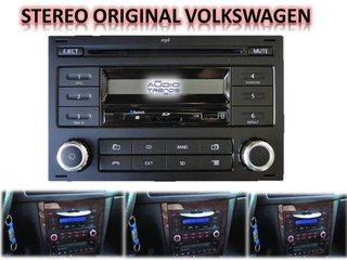 Estereo Volkswagen Bora-suran-instalacion Incluida Local New