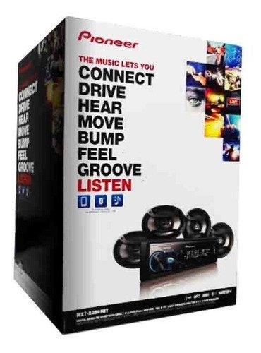 Combo Pioneer MXT-X3869BT - Stereo USB / BT sin CD + Parlantes 6x9