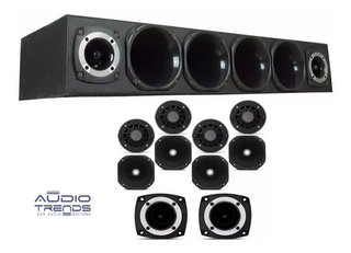 Combo Rackera 4 Driver 2 Super Tweeter Bomber  Audiotrends - tienda online