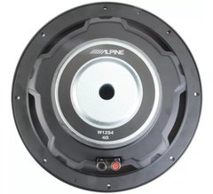 "Subwoofer Alpine 12"" W12S4 Bobina Simple 250w Reales en internet"