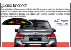 Sensor De Estacionamiento Display Digital Fiorino-partner - comprar online